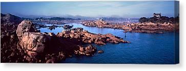 Channel Of Ploumanach Harbour Canvas Print