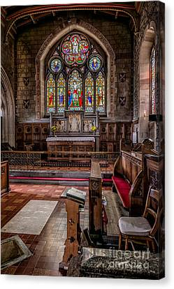 Chapel Window Canvas Print by Adrian Evans