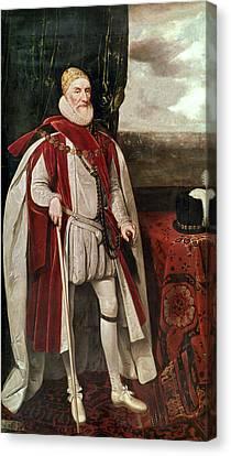 Charles Howard (1536-1624) Canvas Print by Granger
