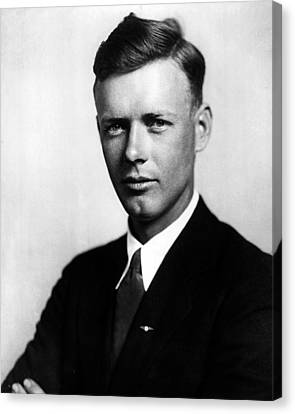 Charles Lindbergh Canvas Print by Retro Images Archive