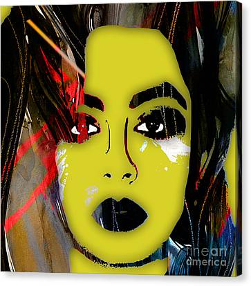Charli Xcx Collection Canvas Print