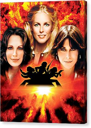 Charlie's Angels  Canvas Print by Silver Screen