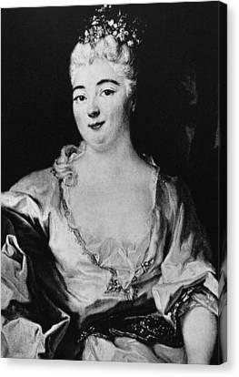 Charlotte Elizabeth (1652-1722) Canvas Print by Granger