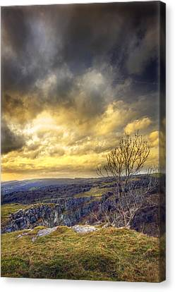 Cheddar Gorge Canvas Print by Matthew Gibson