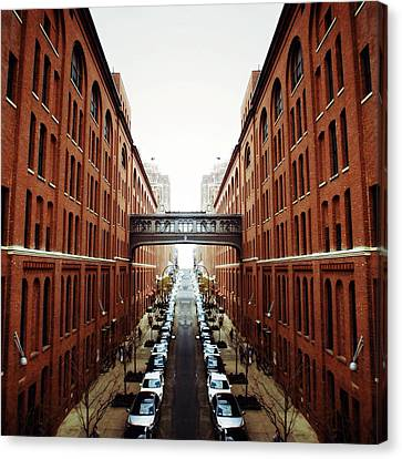 Chelsea Symmetry Canvas Print by Natasha Marco