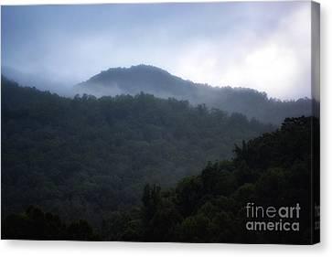Cherokee Mountains Canvas Print by Eva Thomas