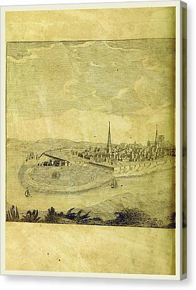 Antiquities Canvas Print - Cheshire Antiquities, Roman, Baronial, And Monastic by Litz Collection