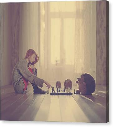 Chess Canvas Print by Anka Zhuravleva