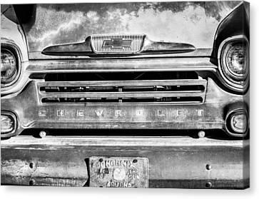 Chevrolet 31 Apache Pickup Truck Emblem Canvas Print by Jill Reger