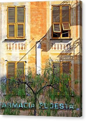 Chiavari Windows Canvas Print