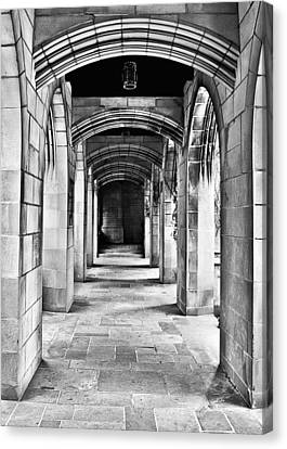 Chicago Fourth Presbyterian Church Canvas Print by Christine Till
