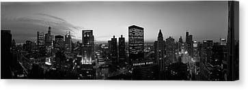 Chicago, Illinois, Usa Canvas Print by Panoramic Images