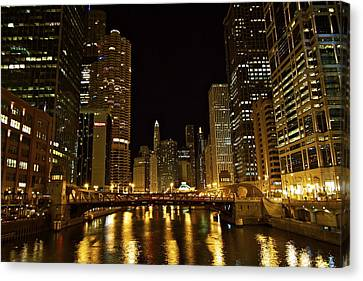 Chicago Nightscape Canvas Print