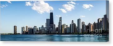 Chicago Panorama Skyline Canvas Print