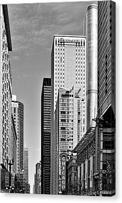 Chicago State Street - That Great Street Canvas Print by Christine Till