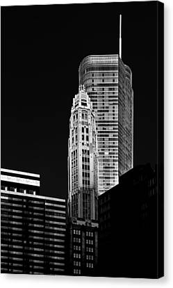 Chicago - Trump International Hotel And Tower Canvas Print by Christine Till