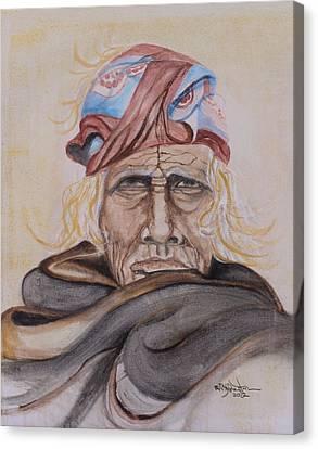 Chief Si Wa Wata Wa Canvas Print