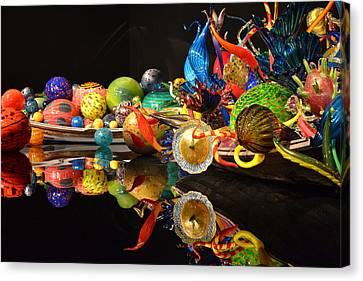 Chihuly-14 Canvas Print by Dean Ferreira