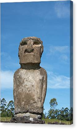 Chile, Easter Island Aka Rapa Nui Canvas Print