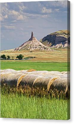 Chimney Rock Canvas Print by Jim West