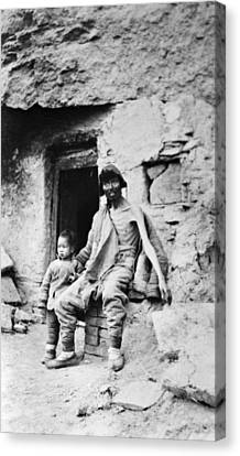 Chinese Peasant Canvas Print - China Peasants, C1910 by Granger