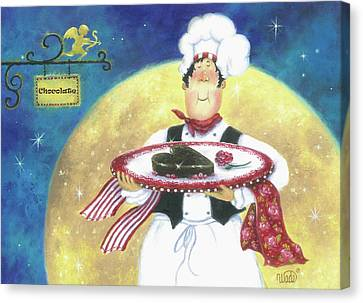 Chocolate Chef Canvas Print
