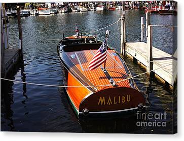Chris Craft Barrel Back Canvas Print
