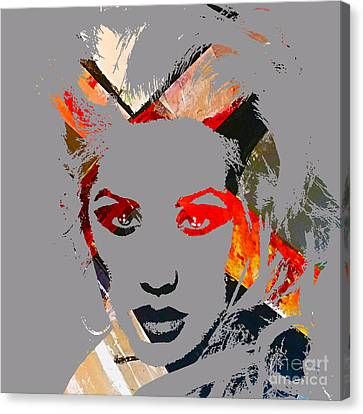 Christina Aguilera Collection Canvas Print