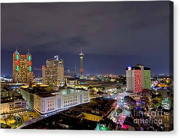 Christmas In San Antonio Canvas Print