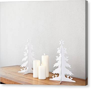 Christmas Tree Canvas Print by Ulrich Schade