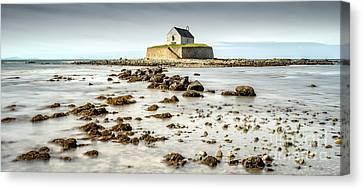 Church In The Sea Canvas Print