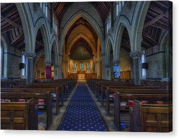 Church Of Our Saviour Canvas Print by Ian Mitchell