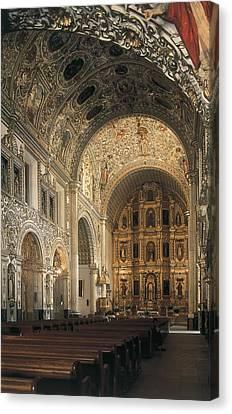 Church Of Santo Domingo De Guzm�n Canvas Print by Everett