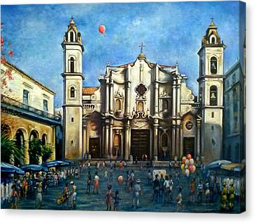 Church Square Havana Canvas Print