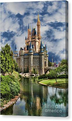 Cinderella Castle II Canvas Print by Lee Dos Santos