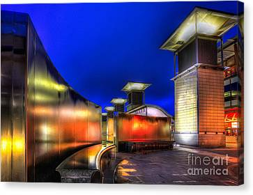 City Lights Canvas Print by Adrian Evans