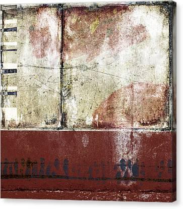 City Sidewalks Canvas Print by Carol Leigh