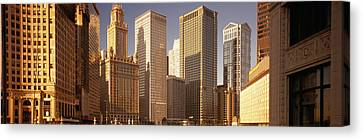 Cityscape Chicago Il Usa Canvas Print by Panoramic Images