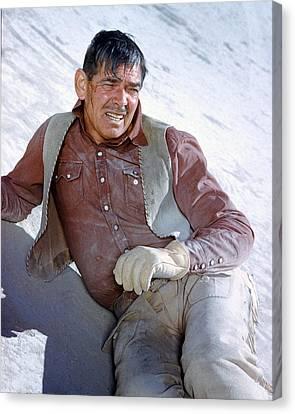 Clark Gable In The Misfits Canvas Print