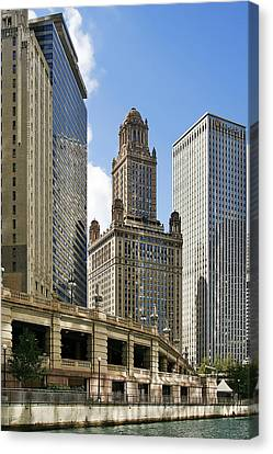 Classic Chicago -  The Jewelers Building Canvas Print by Christine Till