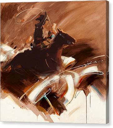 Classic Rodeo 4b Canvas Print