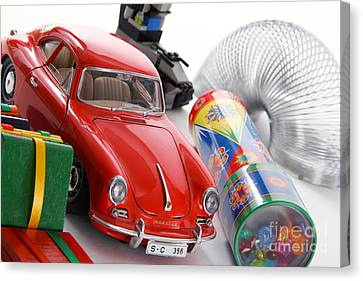 Classic Toys Canvas Print by Photo Researchers