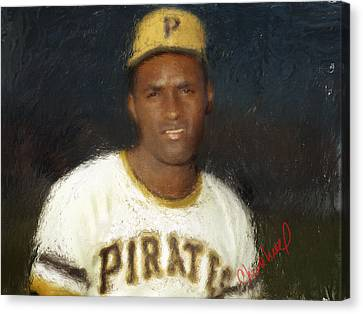 Clemente Canvas Print by Thomas Churchwell