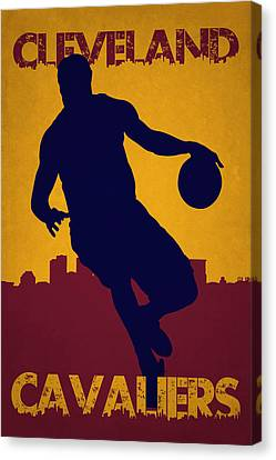 Cleveland Cavaliers Lebron James Canvas Print