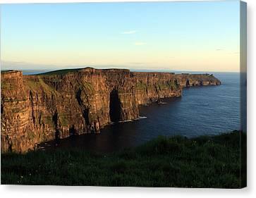 Cliffs Of Moher, Clare, Ireland Canvas Print by Aidan Moran