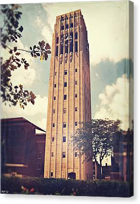 Clock Tower Canvas Print by Phil Perkins