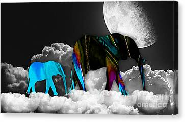Clouds Canvas Print by Marvin Blaine