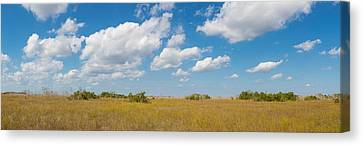 Everglades National Park Canvas Print - Clouds Over Everglades National Park by Panoramic Images