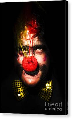 Clown Canvas Print by Jorgo Photography - Wall Art Gallery