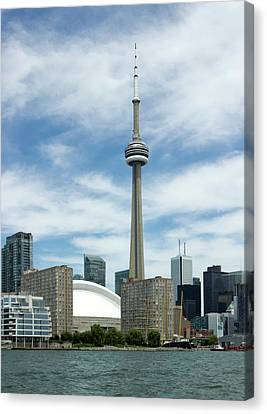 Cn Tower Canvas Print by Victor Habbick Visions